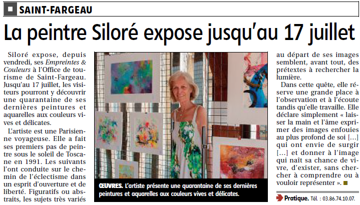 Article Siloré - 07-19