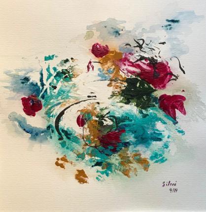 Acrylique - 23 x 29 cm - 2019