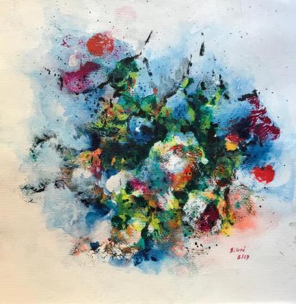Acrylique - 40 x 40 cm - 2019