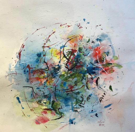 Acrylique - 40 x 39 cm - 2019