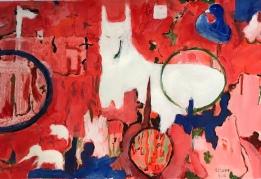 Acrylique – 28 x 38 cm – 2019 / collection particulière