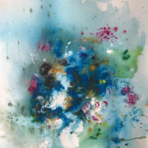 Acrylique - 30 x 30 cm - 2019 / collection particulière