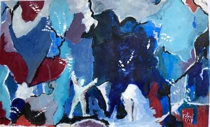 Acrylique – 28 x 38 cm – 2019