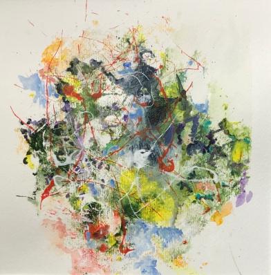 Acrylique - 39 x 29 cm - 2019