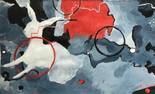 Acrylique – 28 x 44 cm – 2019