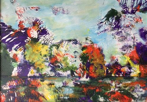 Acrylique - 16 x 26 cm - 2019 / collection particulière