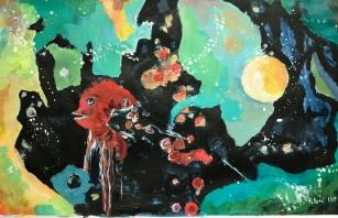 Acrylique – 27.5 x 45 cm – 2019