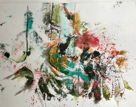 Acrylique - 30 x 40 cm - 2019