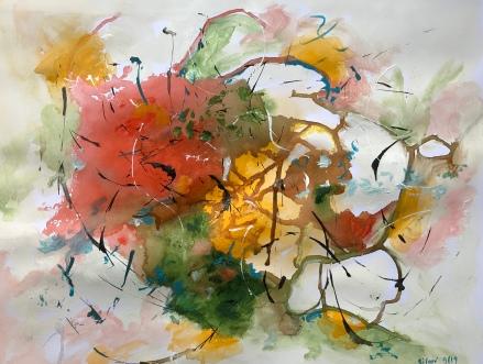 Acrylique - 32 x 50 cm - 2019