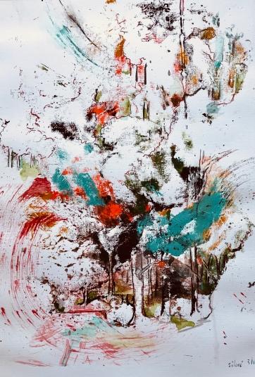 Acrylique - 40 x 30 cm - 2019