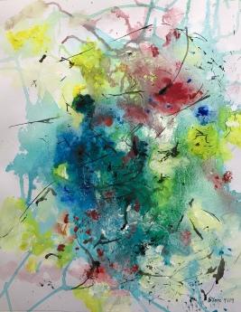 Acrylique - 48 x 38 cm - 2019