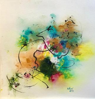 Acrylique - 30 x 30 cm - 2019